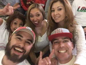 Michael attended University of New Mexico Lobos vs. Arizona - NCAA Mens Basketball on Dec 16th 2017 via VetTix