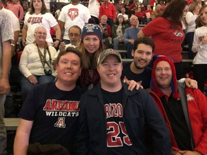 Robert attended University of New Mexico Lobos vs. Arizona - NCAA Mens Basketball on Dec 16th 2017 via VetTix