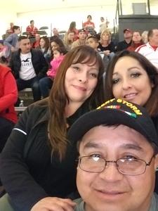 Kenneth attended University of New Mexico Lobos vs. San Jose State - NCAA Mens Basketball on Jan 6th 2018 via VetTix