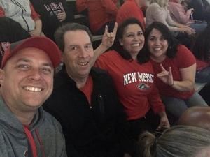 kevin attended University of New Mexico Lobos vs. UNLV - NCAA Mens Basketball on Feb 25th 2018 via VetTix