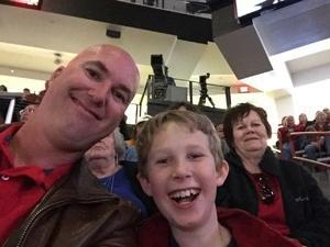 Daniel attended University of New Mexico Lobos vs. UNLV - NCAA Mens Basketball on Feb 25th 2018 via VetTix