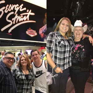 Anna attended George Strait - Strait to Vegas on Sep 1st 2017 via VetTix