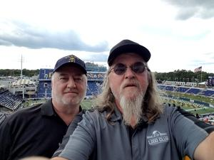 Richard attended Navy Midshipmen vs. Tulane - NCAA Football on Sep 9th 2017 via VetTix