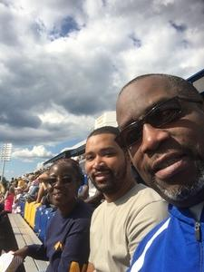 Karl attended Navy Midshipmen vs. Tulane - NCAA Football on Sep 9th 2017 via VetTix