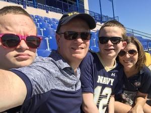 Franklin attended Navy Midshipmen vs. Cincinnati - NCAA Football on Sep 23rd 2017 via VetTix