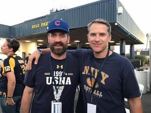 Matthew attended Navy Midshipmen vs. Cincinnati - NCAA Football on Sep 23rd 2017 via VetTix