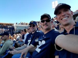 JOHNNY attended Navy Midshipmen vs. Cincinnati - NCAA Football on Sep 23rd 2017 via VetTix