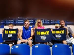 Ronald attended Navy Midshipmen vs. Cincinnati - NCAA Football on Sep 23rd 2017 via VetTix