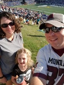 Beau attended Navy Midshipmen vs. Cincinnati - NCAA Football on Sep 23rd 2017 via VetTix