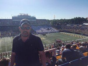 Darryl attended Navy Midshipmen vs. Cincinnati - NCAA Football on Sep 23rd 2017 via VetTix