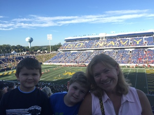 Jim attended Navy Midshipmen vs. Cincinnati - NCAA Football on Sep 23rd 2017 via VetTix