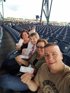 David attended Brad Paisley: Weekend Warrior World Tour 2017 With Special Guest Dustin Lynch, Chase Bryant and Lindsay Ell on Sep 10th 2017 via VetTix