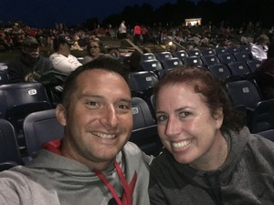 Shana attended Brad Paisley: Weekend Warrior World Tour 2017 With Special Guest Dustin Lynch, Chase Bryant and Lindsay Ell on Sep 10th 2017 via VetTix