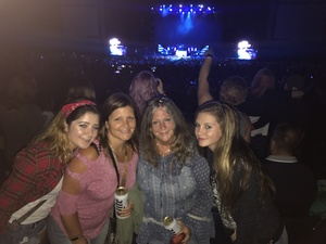 Shannon attended Brad Paisley: Weekend Warrior World Tour 2017 With Special Guest Dustin Lynch, Chase Bryant and Lindsay Ell on Sep 10th 2017 via VetTix