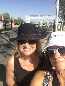 Tammy attended Arizona State Fair Armed Forces Day - Tickets Are Only Good for October 20th on Oct 20th 2017 via VetTix