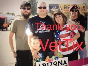 James E attended Arizona State Fair Armed Forces Day - Tickets Are Only Good for October 20th on Oct 20th 2017 via VetTix