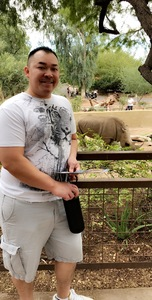Rom attended Phoenix Zoo on Nov 4th 2017 via VetTix