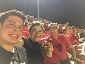 Kaz attended Phoenix Rising FC vs. Seattle Sounders FC 2 - USL on Sep 2nd 2017 via VetTix
