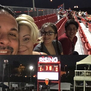 Jose Chavez Sr. attended Phoenix Rising FC vs. Seattle Sounders FC 2 - USL on Sep 2nd 2017 via VetTix