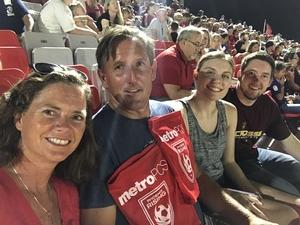 Brett attended Phoenix Rising FC vs. Seattle Sounders FC 2 - USL on Sep 2nd 2017 via VetTix