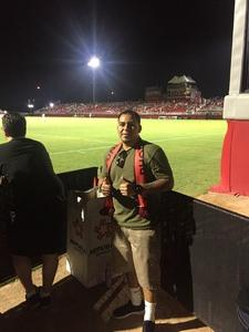 Johnny attended Phoenix Rising FC vs. Seattle Sounders FC 2 - USL on Sep 2nd 2017 via VetTix