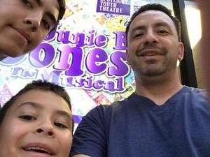 Arcenio attended Junie B. Jones the Musical on Sep 2nd 2017 via VetTix