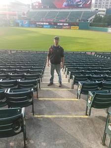 Jonas attended Cleveland Indians vs. Detroit Tigers - MLB on Sep 11th 2017 via VetTix