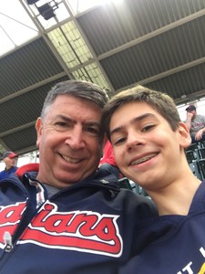 Michael attended Cleveland Indians vs. Detroit Tigers - MLB on Sep 11th 2017 via VetTix