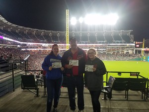 charles attended Cleveland Indians vs. Detroit Tigers - MLB on Sep 11th 2017 via VetTix