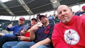 Shaun attended Cleveland Indians vs. Detroit Tigers - MLB on Sep 11th 2017 via VetTix