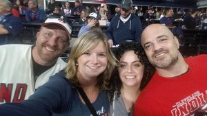Jessica attended Cleveland Indians vs. Detroit Tigers - MLB on Sep 11th 2017 via VetTix