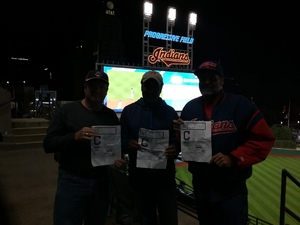 Dave attended Cleveland Indians vs. Detroit Tigers - MLB on Sep 11th 2017 via VetTix