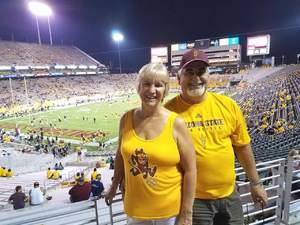 Michael attended Arizona State Sun Devils vs. San Diego State - NCAA Football on Sep 9th 2017 via VetTix