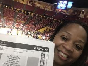 Rachael attended Phoenix Mercury vs. Seattle Storm - WNBA - Playoff Game! on Sep 6th 2017 via VetTix