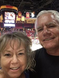 Kim attended Phoenix Mercury vs. Seattle Storm - WNBA - Playoff Game! on Sep 6th 2017 via VetTix
