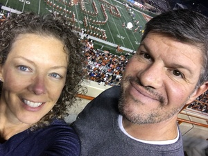 Bill attended University of Texas Longhorns vs. Texas Tech- NCAA Football on Nov 24th 2017 via VetTix