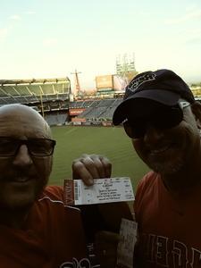 DEAN attended Los Angeles Angels vs. Houston Astros - MLB on Sep 12th 2017 via VetTix