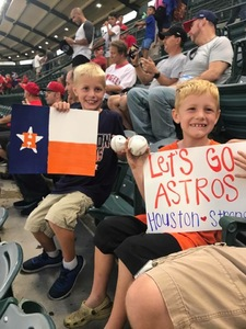 corey attended Los Angeles Angels vs. Houston Astros - MLB on Sep 12th 2017 via VetTix