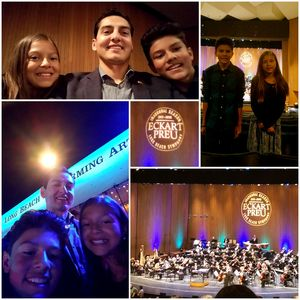 Will attended Opening Night - Eckart Preu Inaugural Concert - Presented by the Long Beach Symphony on Oct 7th 2017 via VetTix