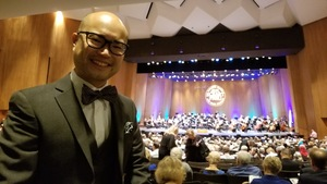 Jimmy attended Opening Night - Eckart Preu Inaugural Concert - Presented by the Long Beach Symphony on Oct 7th 2017 via VetTix