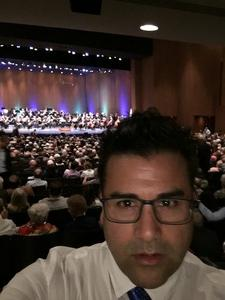 Emilio attended Opening Night - Eckart Preu Inaugural Concert - Presented by the Long Beach Symphony on Oct 7th 2017 via VetTix