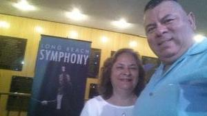 Alejandro attended Opening Night - Eckart Preu Inaugural Concert - Presented by the Long Beach Symphony on Oct 7th 2017 via VetTix