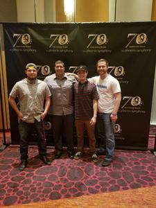 MICHAEL attended The Rat Pack Is Back! - Saturday on Sep 23rd 2017 via VetTix