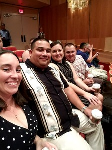 Pete attended The Rat Pack Is Back! - Saturday on Sep 23rd 2017 via VetTix