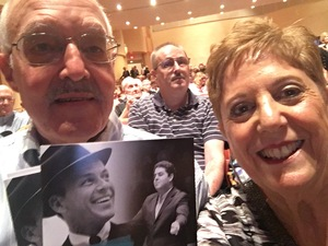 Christopher attended The Rat Pack Is Back! - Sunday on Sep 24th 2017 via VetTix