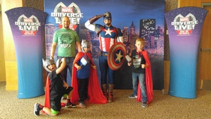 Joshua attended Marvel Universe Live! Age of Heroes - Show Tickets + Captain America Meet & Greet on Sep 28th 2017 via VetTix