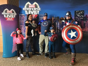 William attended Marvel Universe Live! Age of Heroes - Show Tickets + Captain America Meet & Greet on Sep 28th 2017 via VetTix