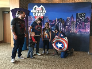 Anthony attended Marvel Universe Live! Age of Heroes - Show Tickets + Captain America Meet & Greet on Sep 28th 2017 via VetTix