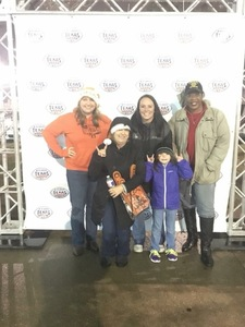 Christina attended 2017 Texas Bowl - Texas Longhorns vs. Missouri Tigers - NCAA Football on Dec 27th 2017 via VetTix