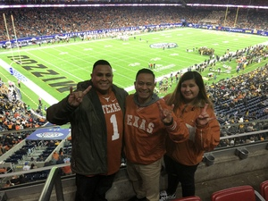 Mark attended 2017 Texas Bowl - Texas Longhorns vs. Missouri Tigers - NCAA Football on Dec 27th 2017 via VetTix